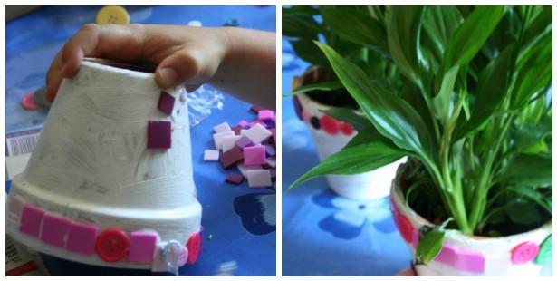 Plant pots_mosaic