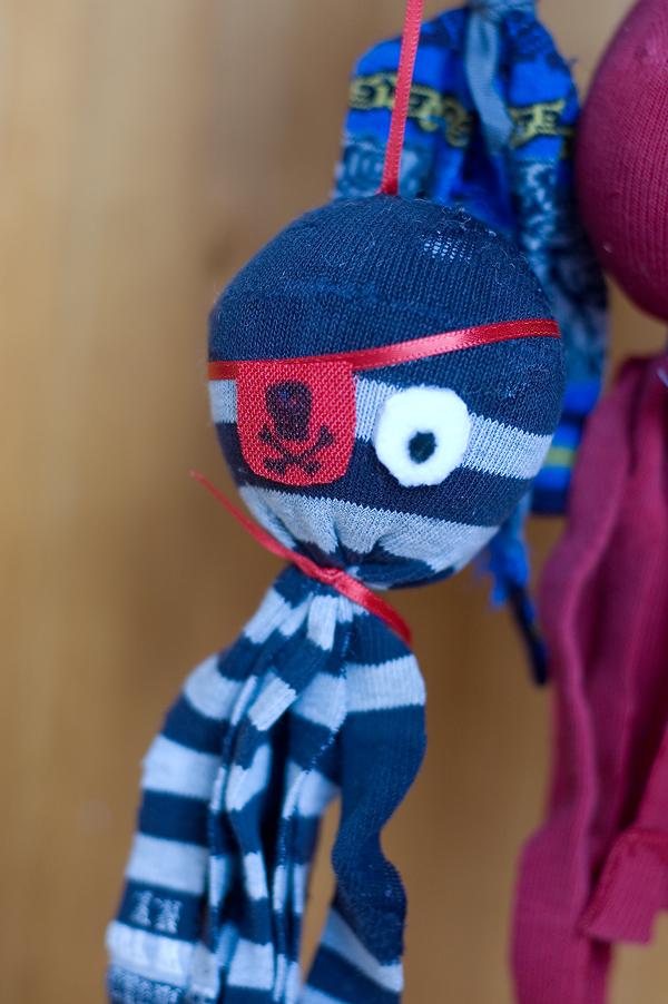 Pirate sock