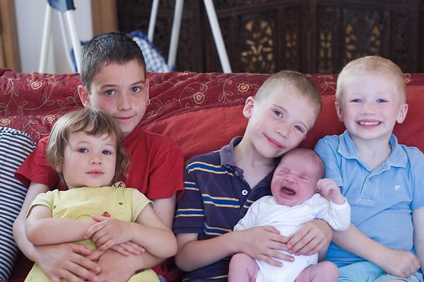 5 kiddos