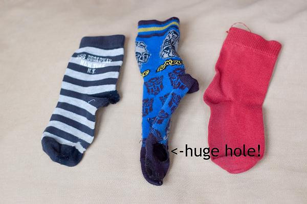 Old socks