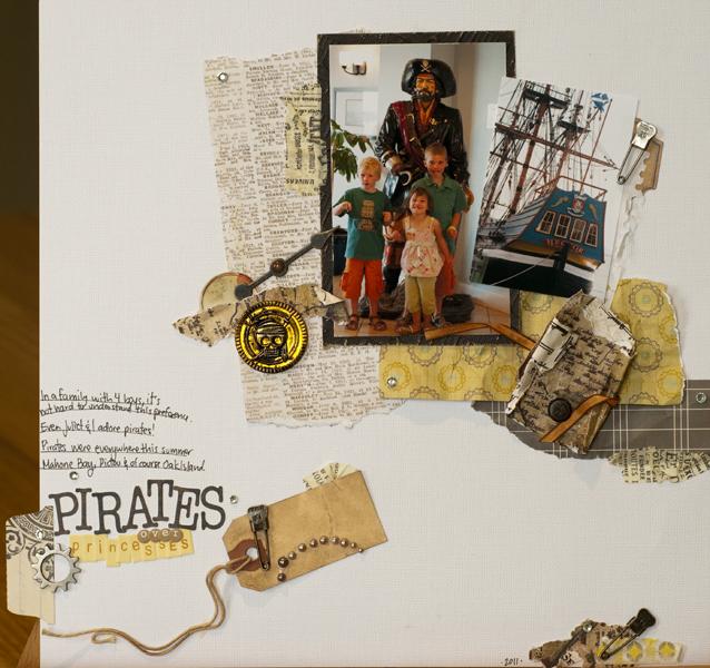 Pirates over princesses