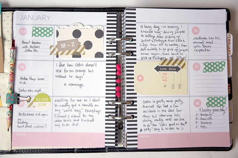 January-planner-pages