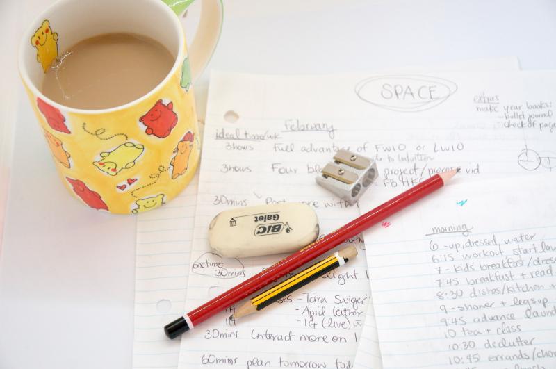 Pencil-routine