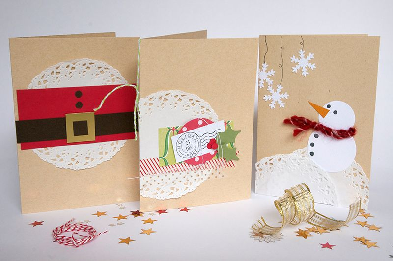 Doily-card-set