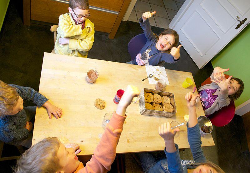 Kids-gold-cookies