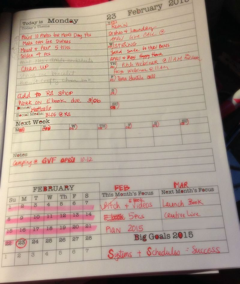 Planner page - 1