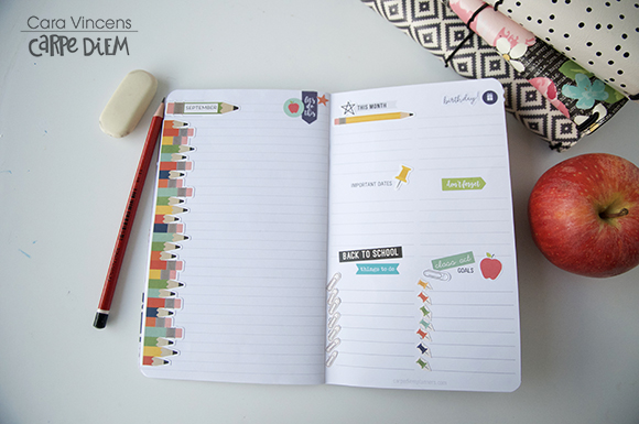 School goal page