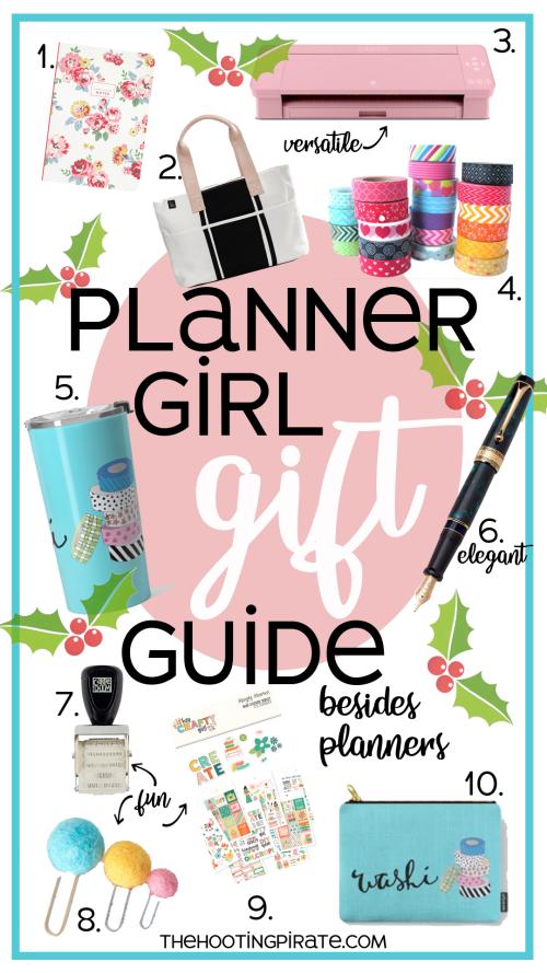 Planner girl gift guide